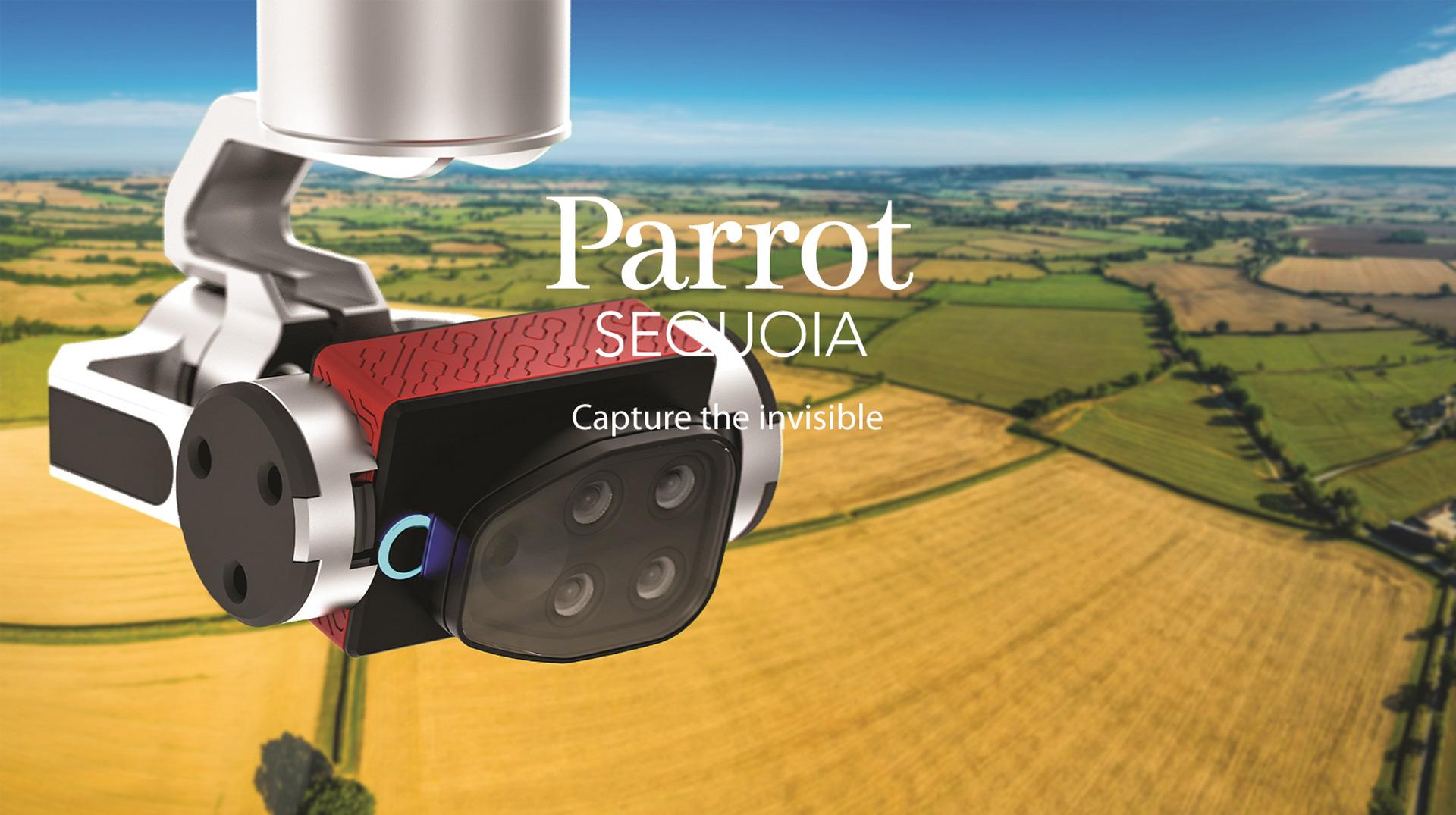 Parrot Sequoia : la caméra à 3200 euros pour drone qui simplifie la vie des agriculteurs