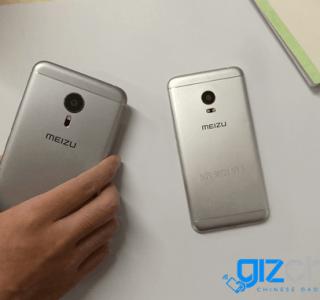 Meizu Pro 5 Mini, un design légèrement différent