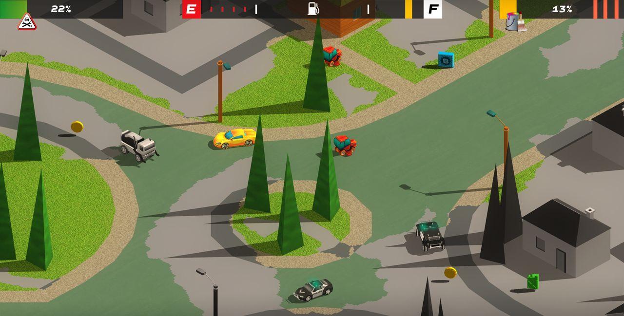 Splash Car est un Splatoon sur roues disponible sur Android