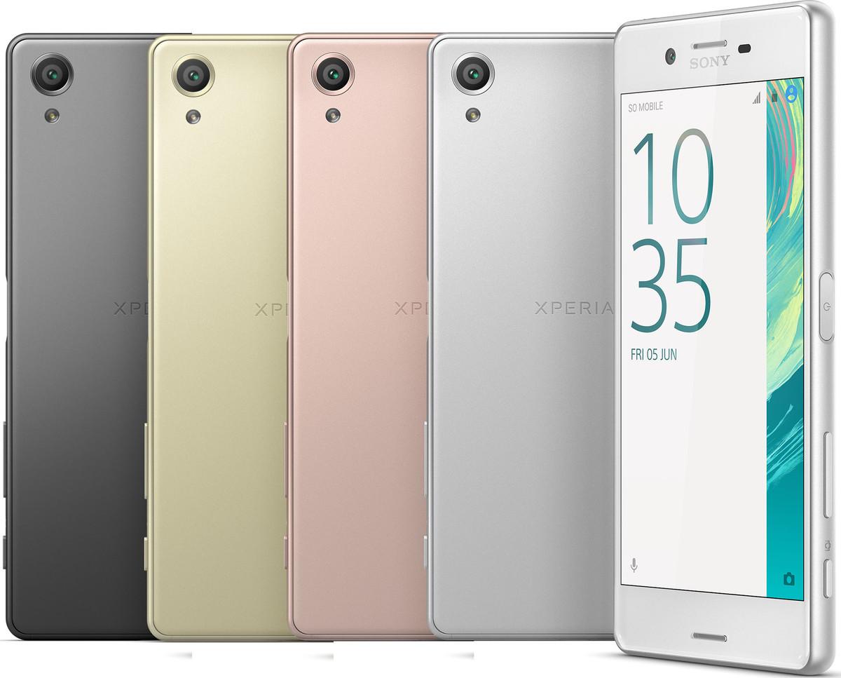 Sony donne des nouvelles de ses Xperia X