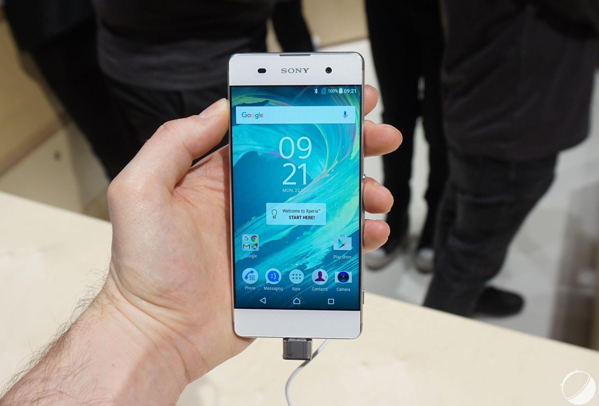Le Sony Xperia X disponible le 20 mai, et le XA le 10 juin en Angleterre