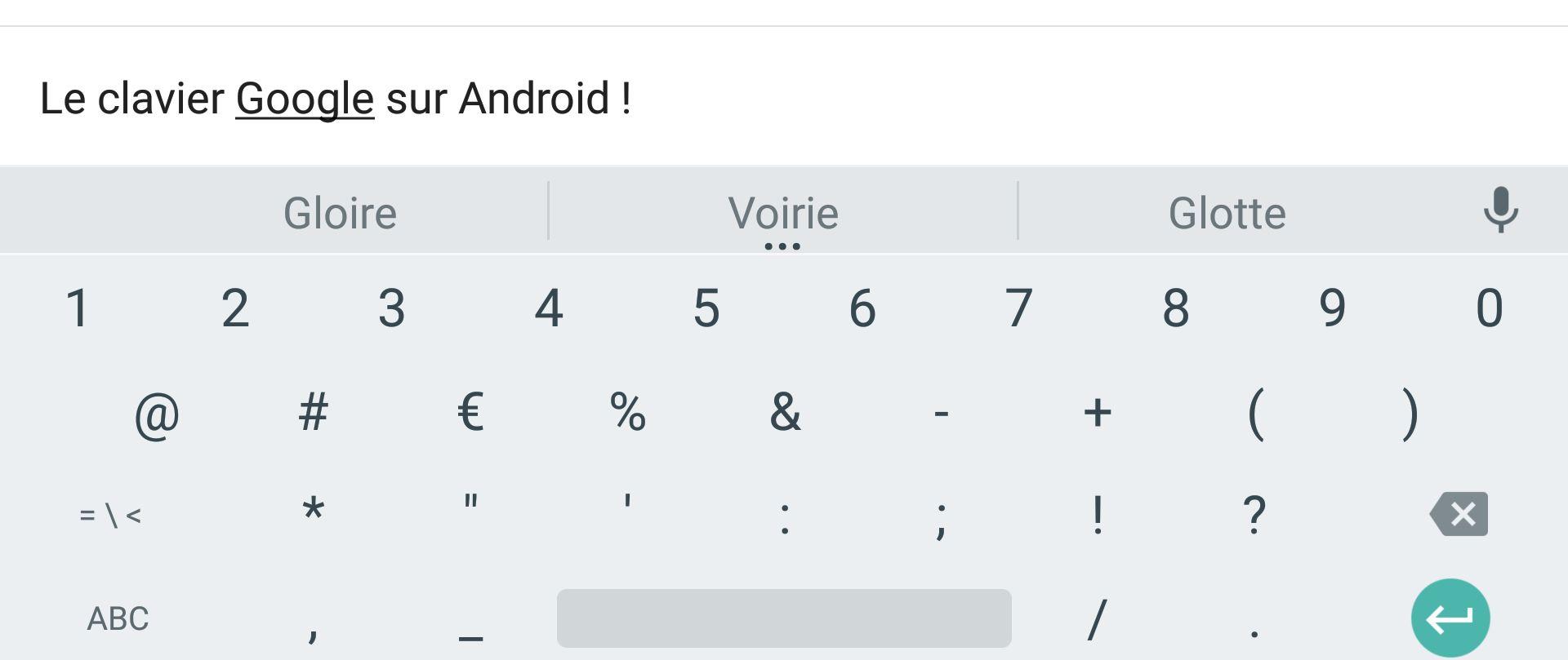 Google préparerait un clavier pour l'iPhone avec un moteur de recherche intégré