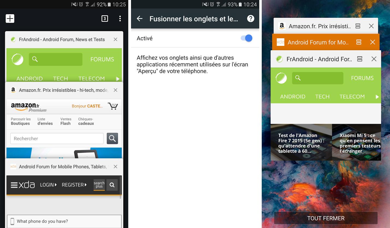 Chrome : la fusion des onglets avec les applications récentes va disparaître