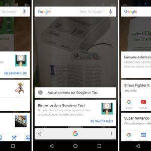 Google Now on Tap supporte désormais la reconnaissance optique de caractères
