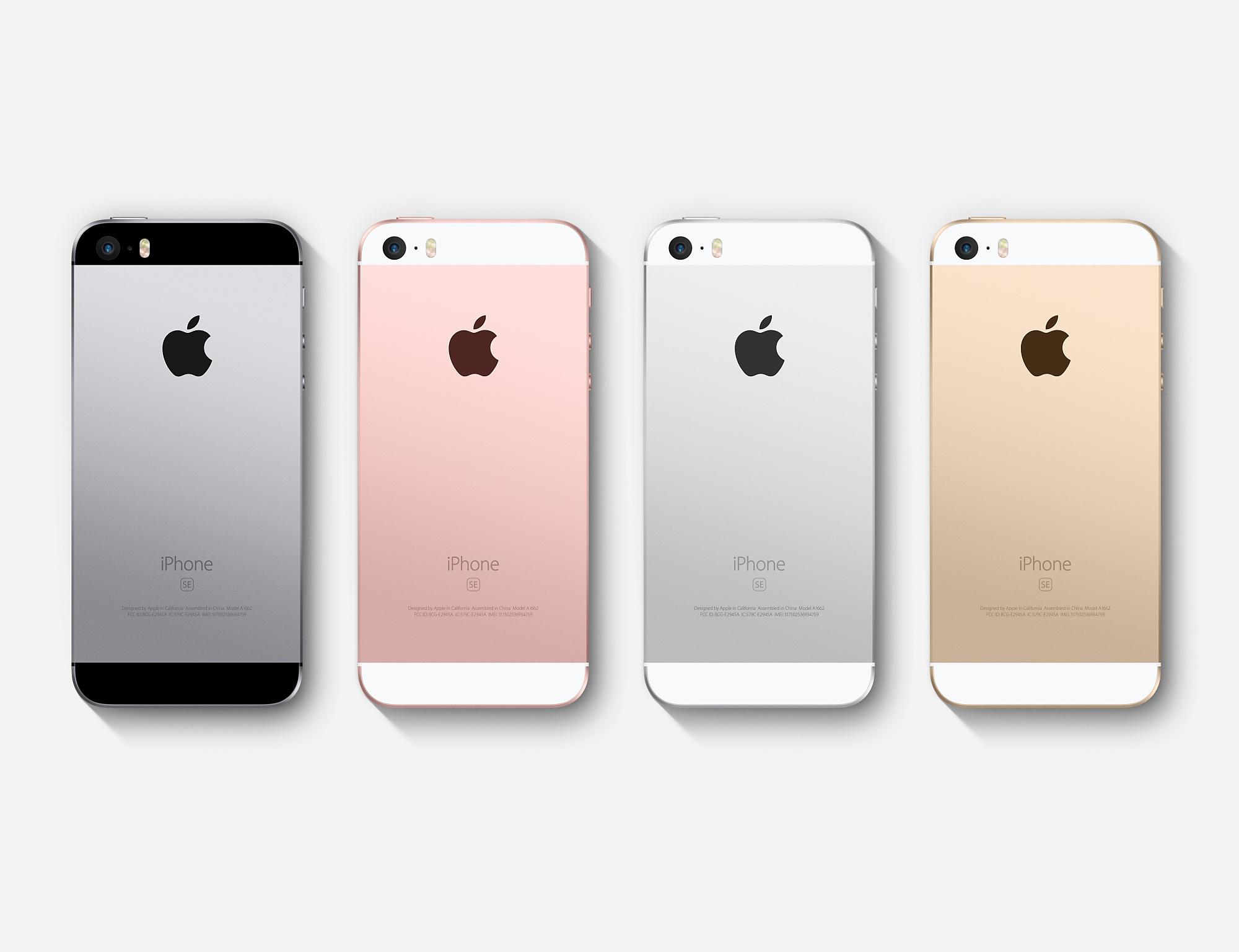 Tech'spresso : l'iPhone SE officiel, la bataille des promos sur les forfaits et un LG G5 Lite