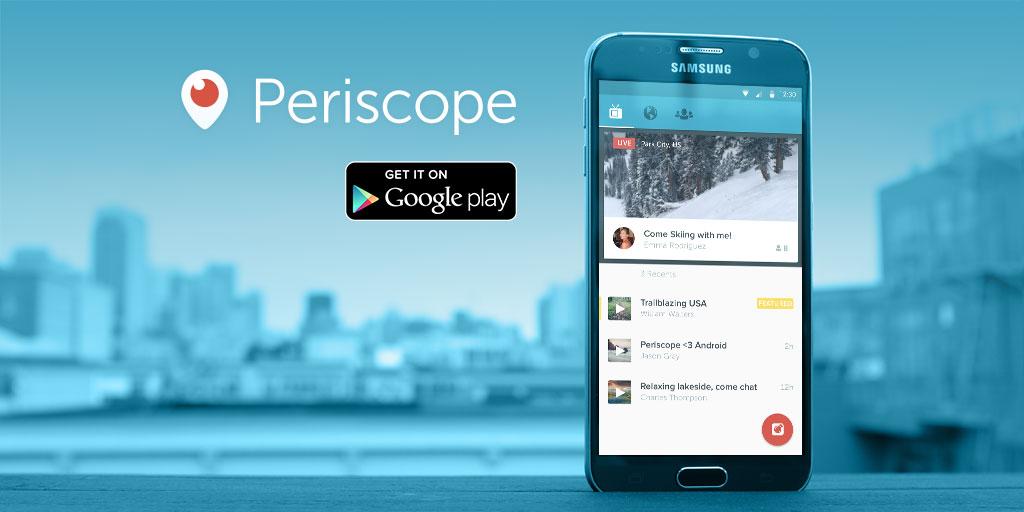 Periscope souffle sa première bougie et fête ses 200 millions de livestreams