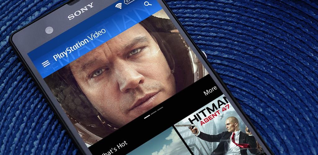 PlayStation Vidéo : Sony se lance dans la diffusion de films et de séries sur Android