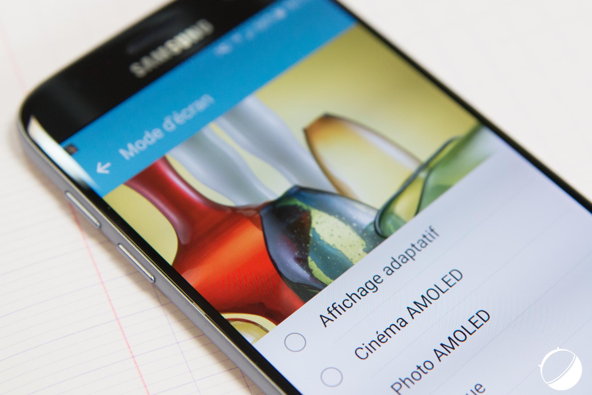 Samsung : l'écran des Galaxy S7 et S7 edge est-il meilleur que celui du Galaxy S6 ?
