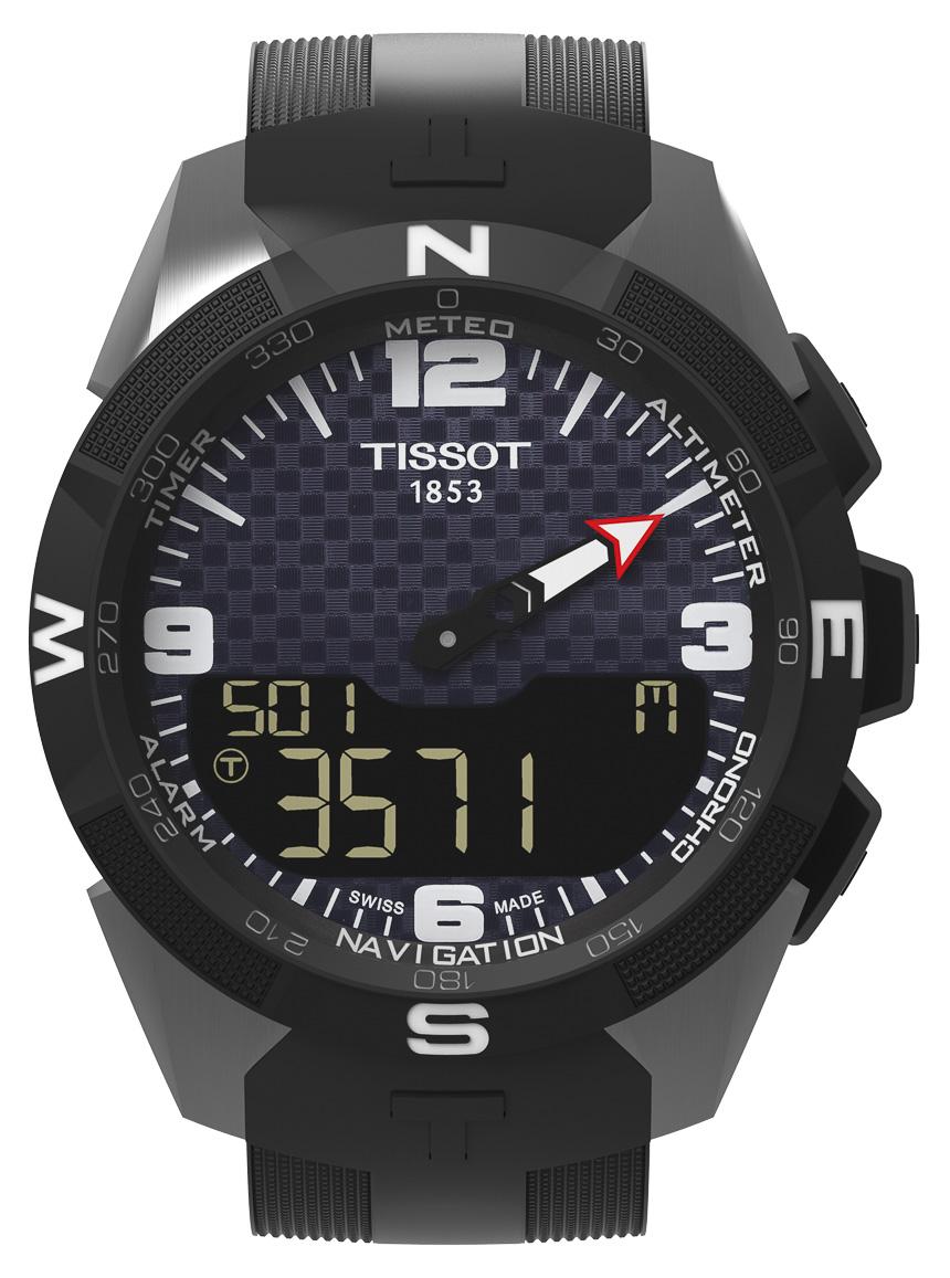 Tissot Smart-Touch : une montre connectée à l'autonomie infinie ?