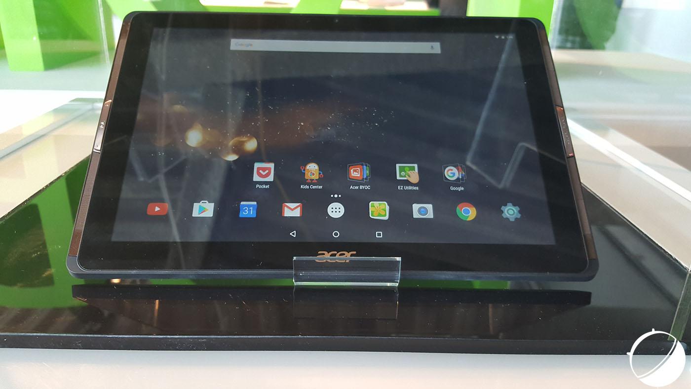Prise en main de l'Acer Iconia Tab 10, de l'entrée de gamme décevant