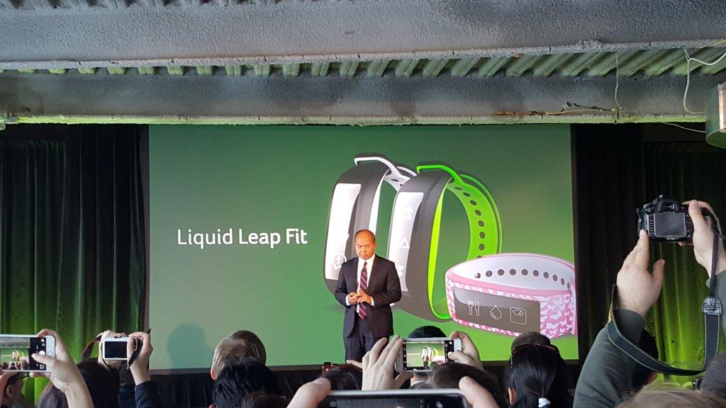 Acer Liquid Leap Fit : un bracelet connecté avec écran tactile et mesure du pouls