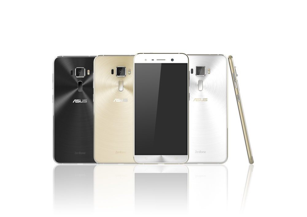 Les Asus Zenfone 3 et Zenfone 3 Deluxe se montrent sur une image