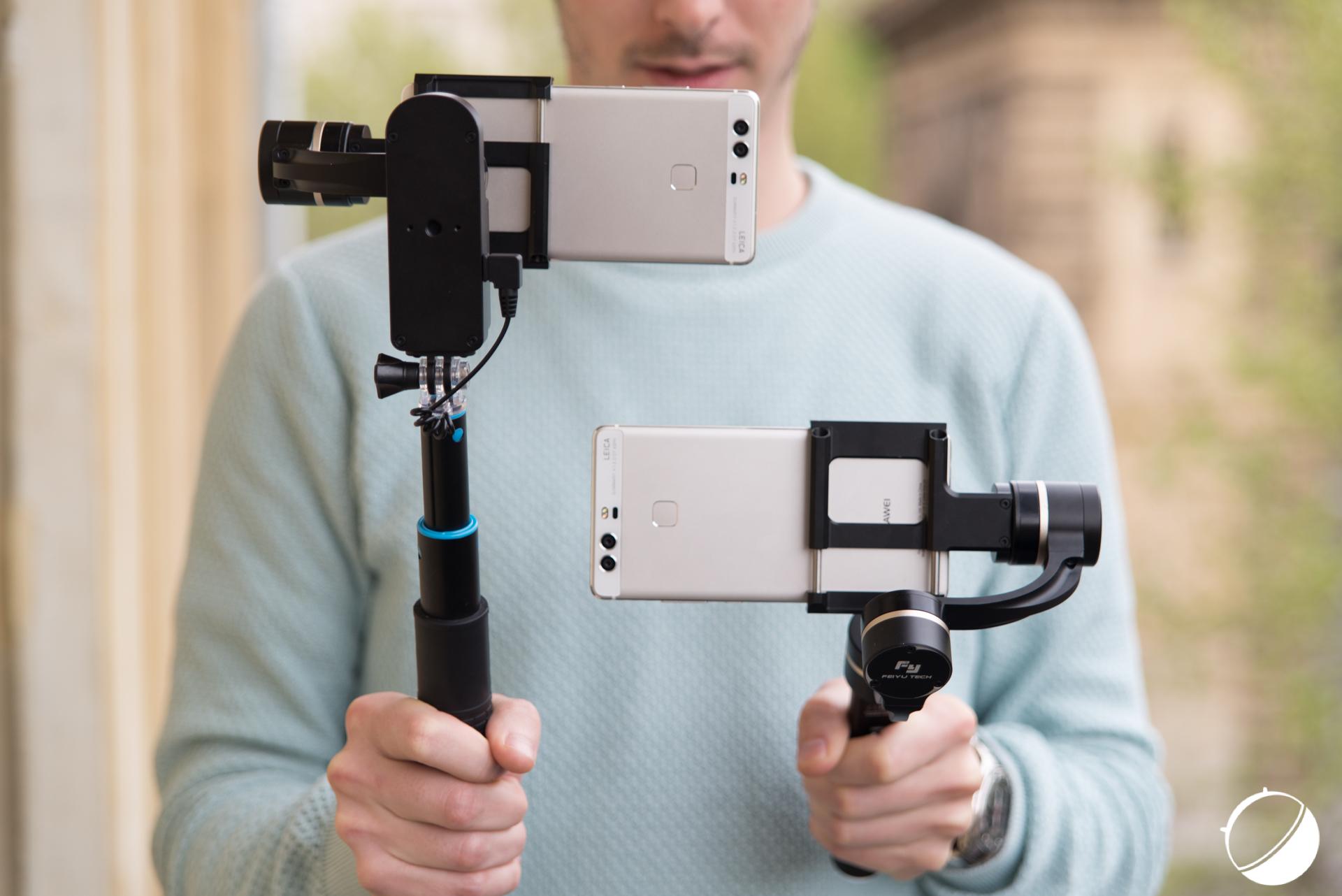 Test des Feiyu SmartStab et G4 Plus, des stabilisateurs dédiés aux smartphones