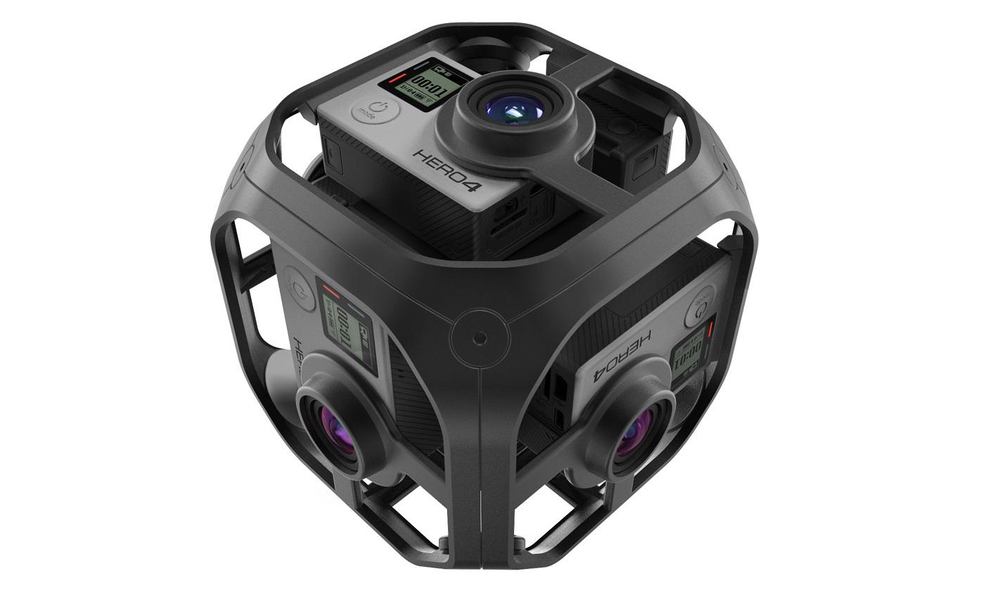 Le GoPro Omni ne vaut finalement «que» 5000 dollars