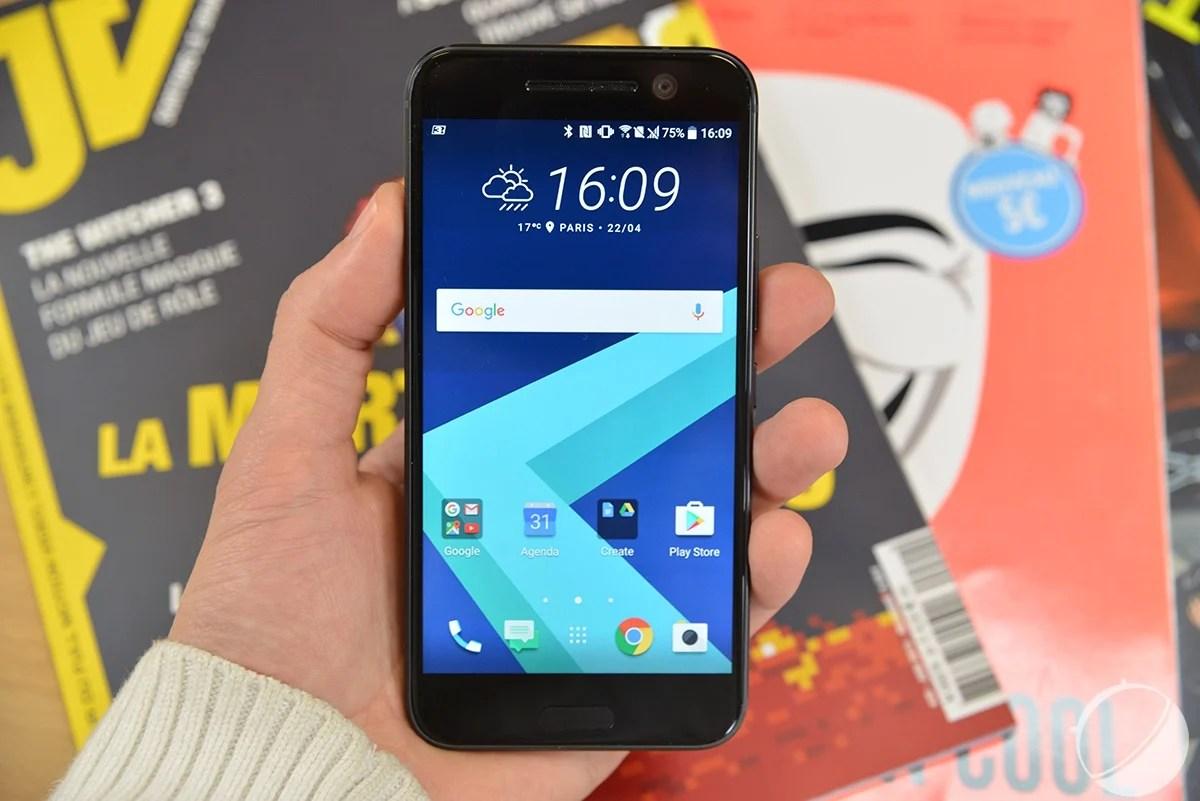 Le HTC 10 précise désormais la date de ses patchs de sécurité