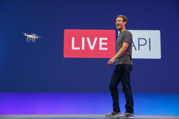 Facebook Live : on peut maintenant streamer une vidéo depuis un drone
