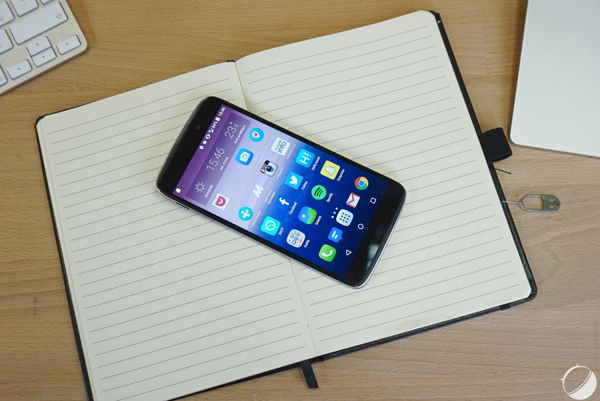 Alcatel OneTouch Idol3 : le déploiement d'Android6.0.1 Marshmallow débute enfin