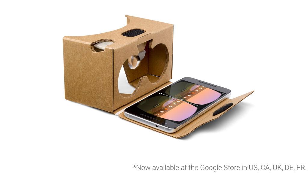 Le Google Store français permet maintenant d'acheter des Cardboard hors de prix
