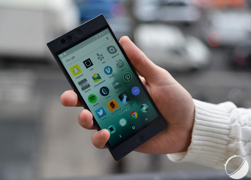 Le Nextbit Robin est en vente sur Amazon à 299 dollars, et il est compatible avec nos réseaux 4G LTE