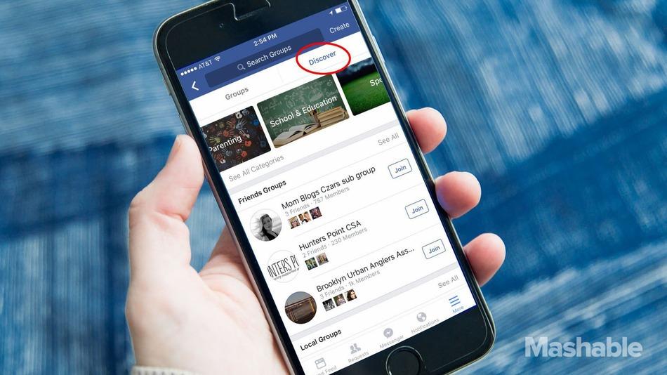 Facebook compte bien mettre ses groupes en avant