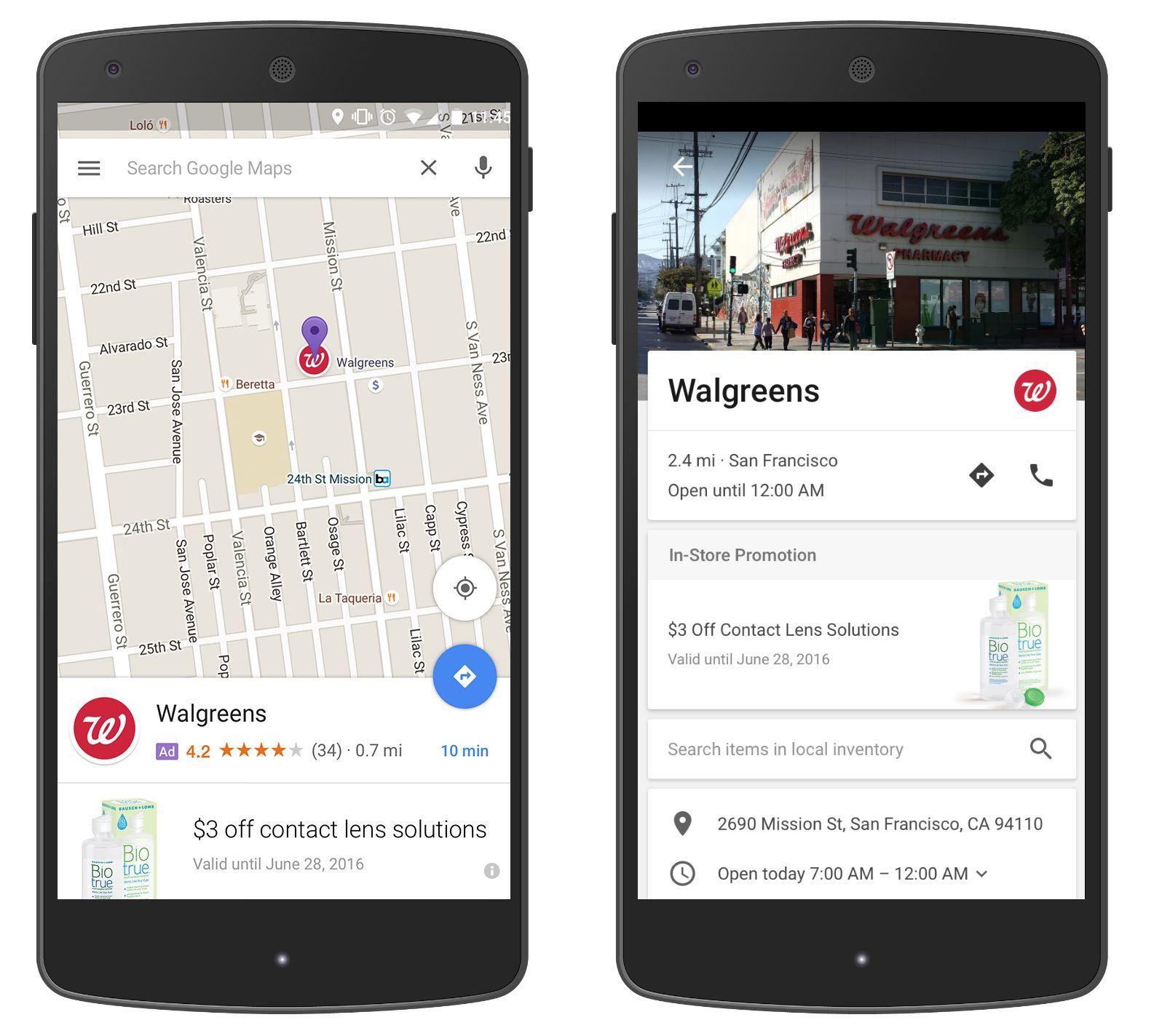 Google Maps sans publicité, c'est fini