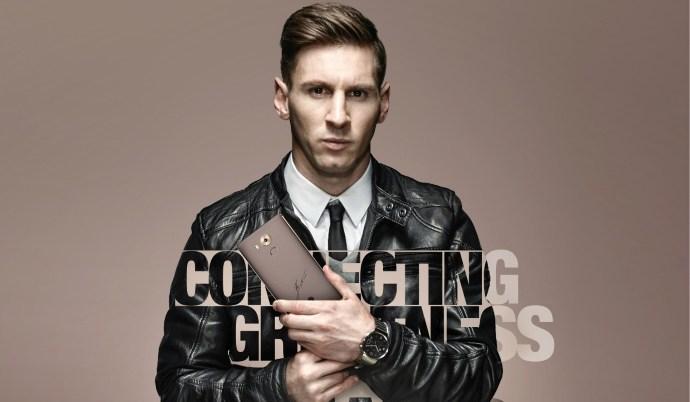 Huawei Mate 8 : une édition spéciale signée par Lionel Messi
