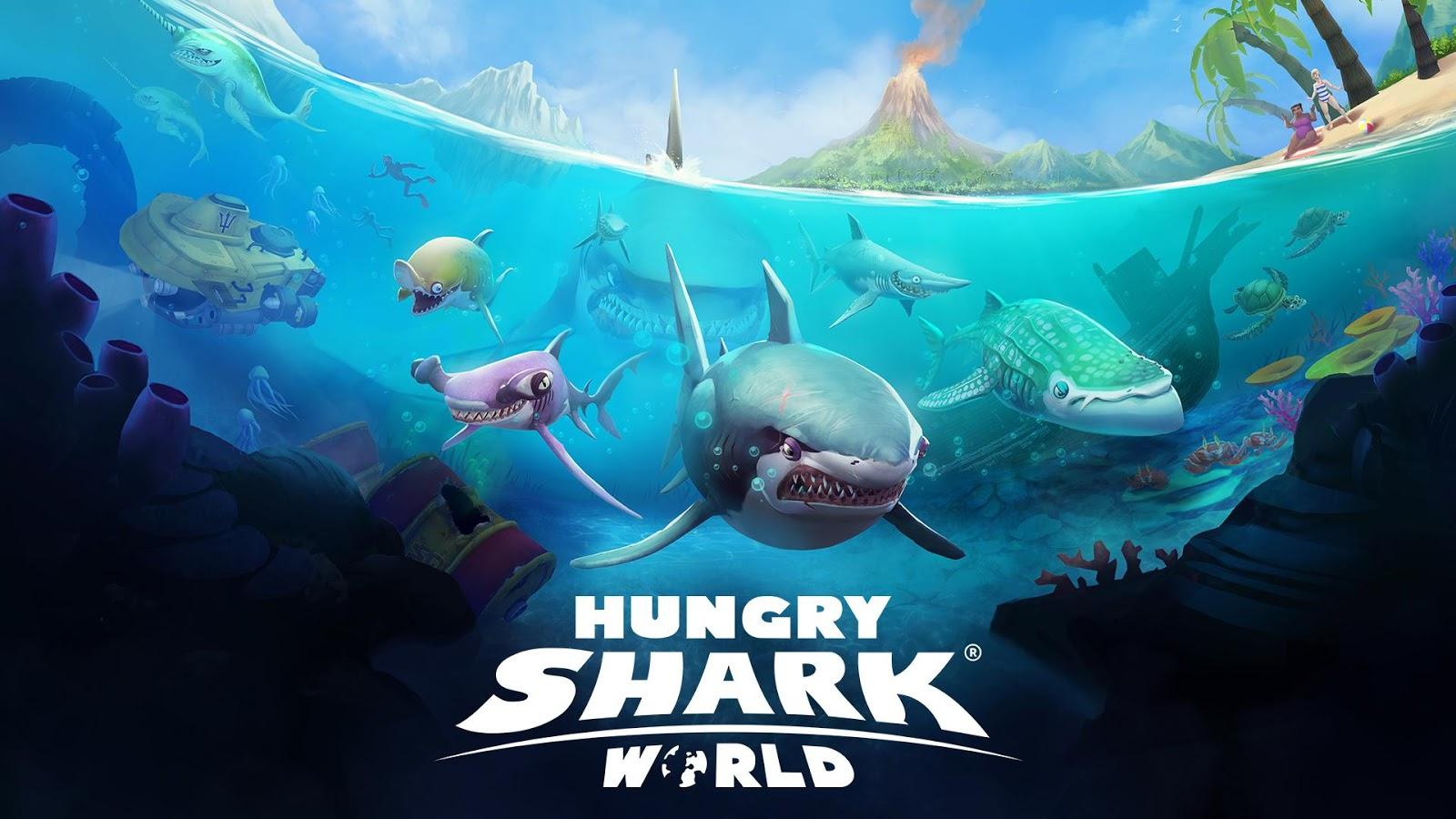 Hungry Shark World se fait les dents sur Android