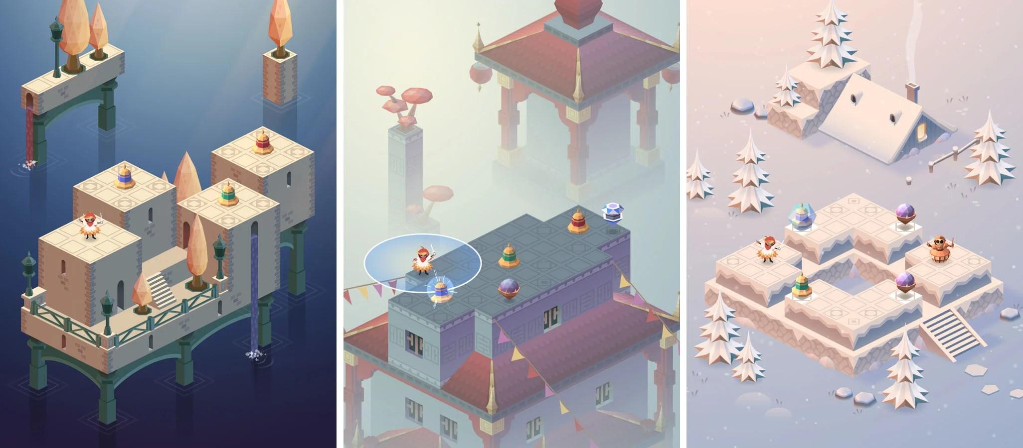 Maestria : le puzzle-game à la Monument Valley devient gratuit