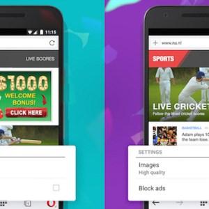 Opera Mini intègre désormais d'office un bloqueur de publicités