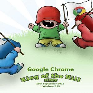 Google Chrome dépasse enfin Internet Explorer
