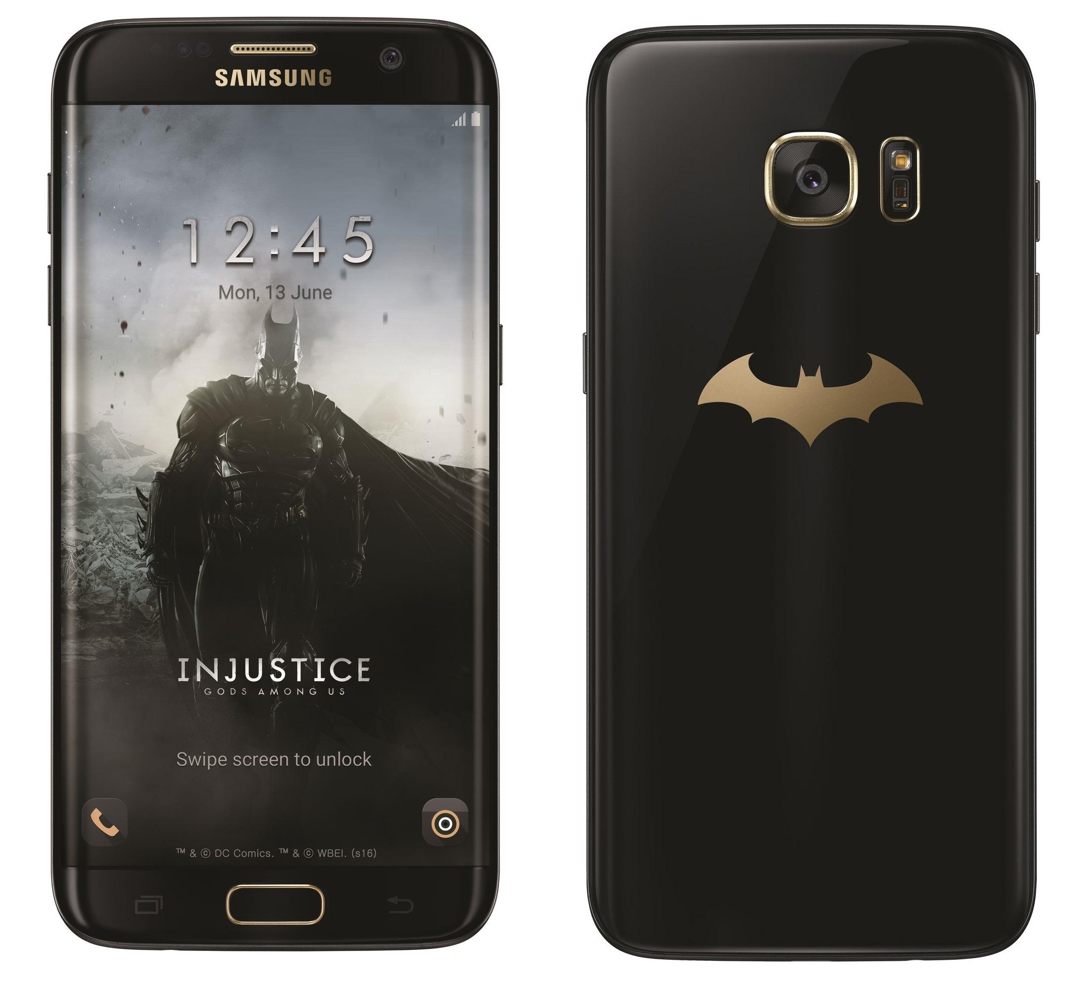 Le Samsung GalaxyS7 edge enfile sa cape avec une édition spéciale Batman