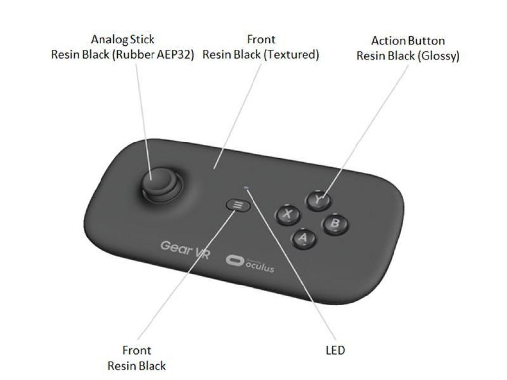 Samsung Gear VR : un premier rendu de la manette dédiée au casque de réalité virtuelle