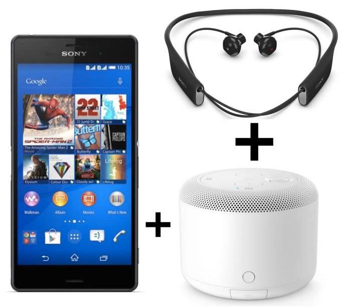 🔥 Vente flash : Le Sony Xperia Z3 avec des écouteurs et une enceinte à 315 euros