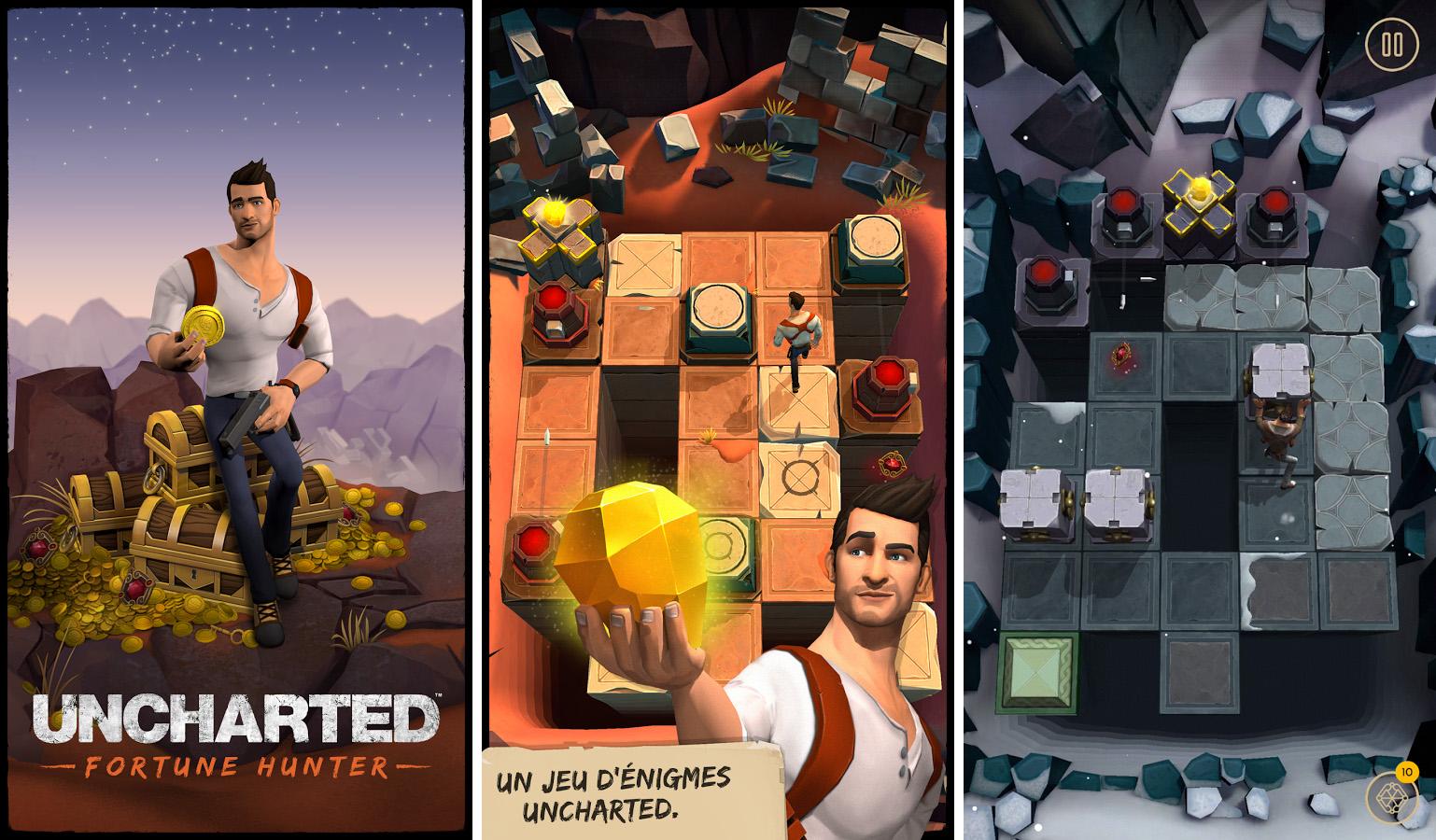 Uncharted : Fortune Hunter part à la chasse au trésor sur Android