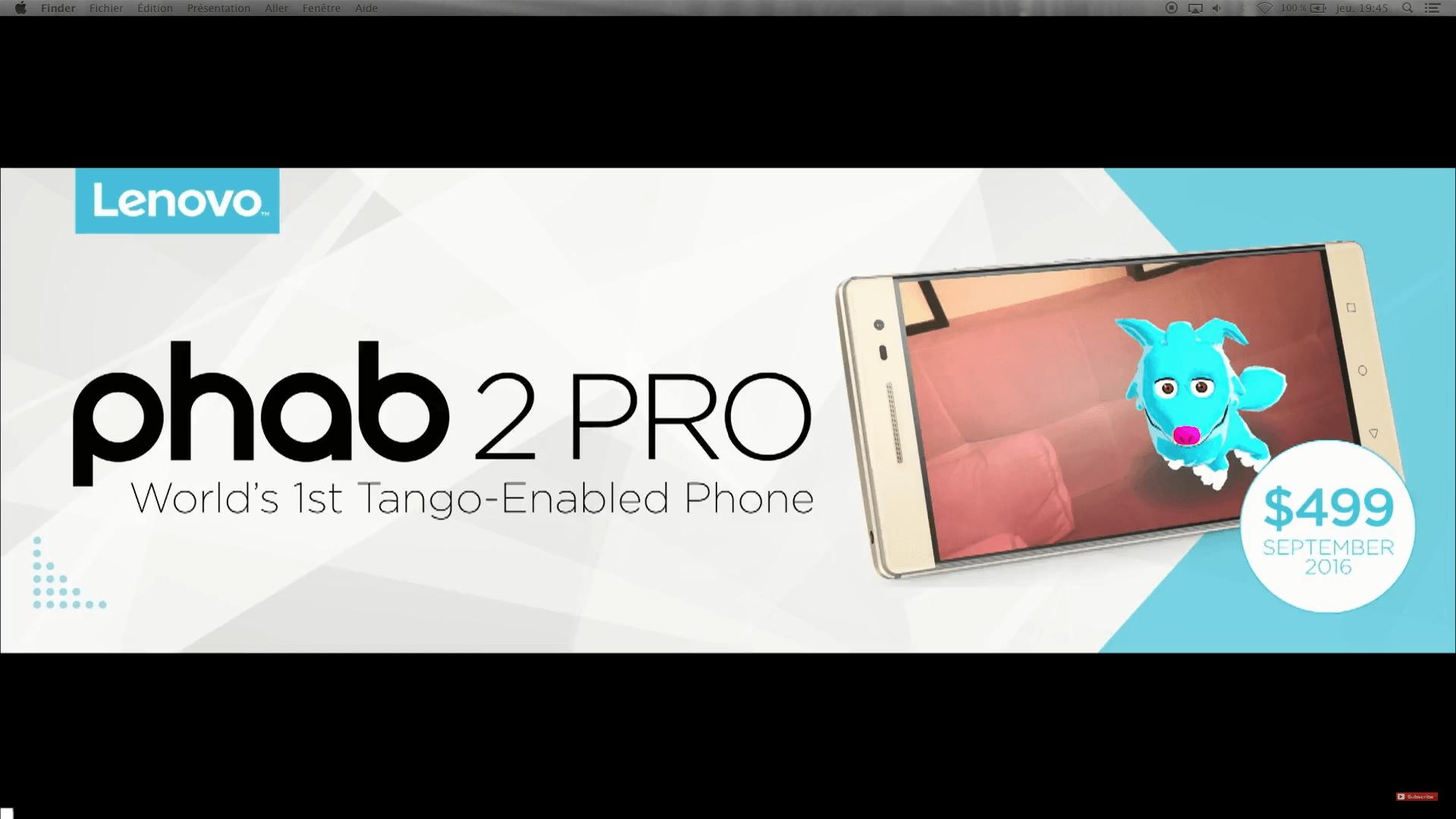Lenovo Phab2 Pro : d'après les premiers essais américains, que vaut le premier smartphone Tango ?