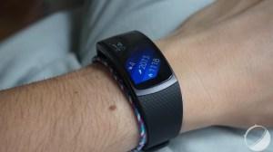Test du Samsung Gear Fit2, une courbe qui s'adoucit