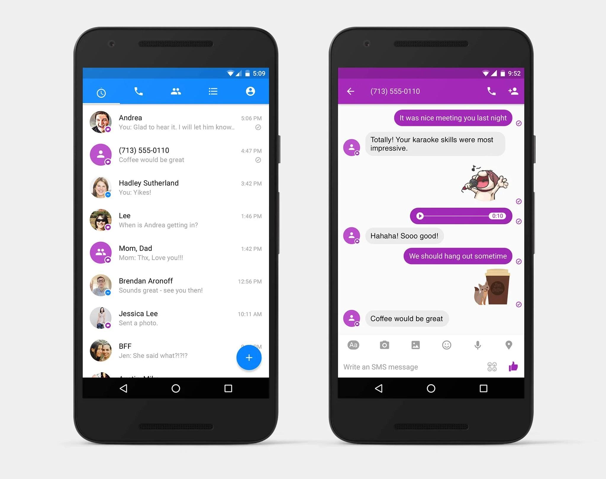 Techs'presso : Des SMS dans Messenger, un smartphone à résonance magnétique et la fin du OnePlus X
