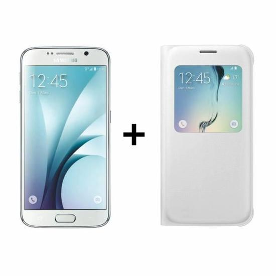 🔥 Soldes : le Samsung Galaxy S6 blanc + une coque à 338 euros