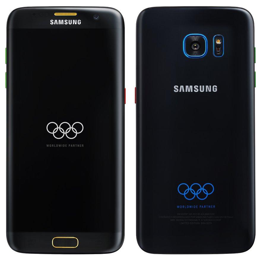 Samsung Galaxy S7 edge : l'édition Olympique se confirme