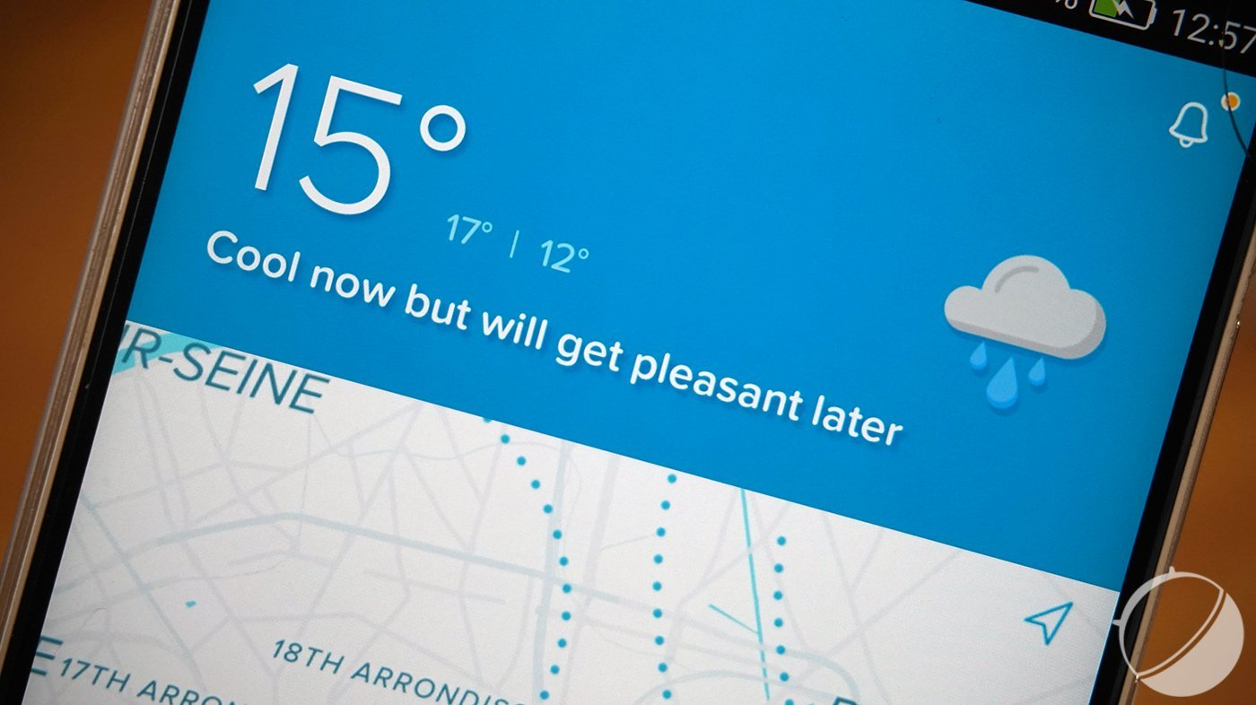 Sunshine : le Waze de la météo est disponible en bêta sur Android