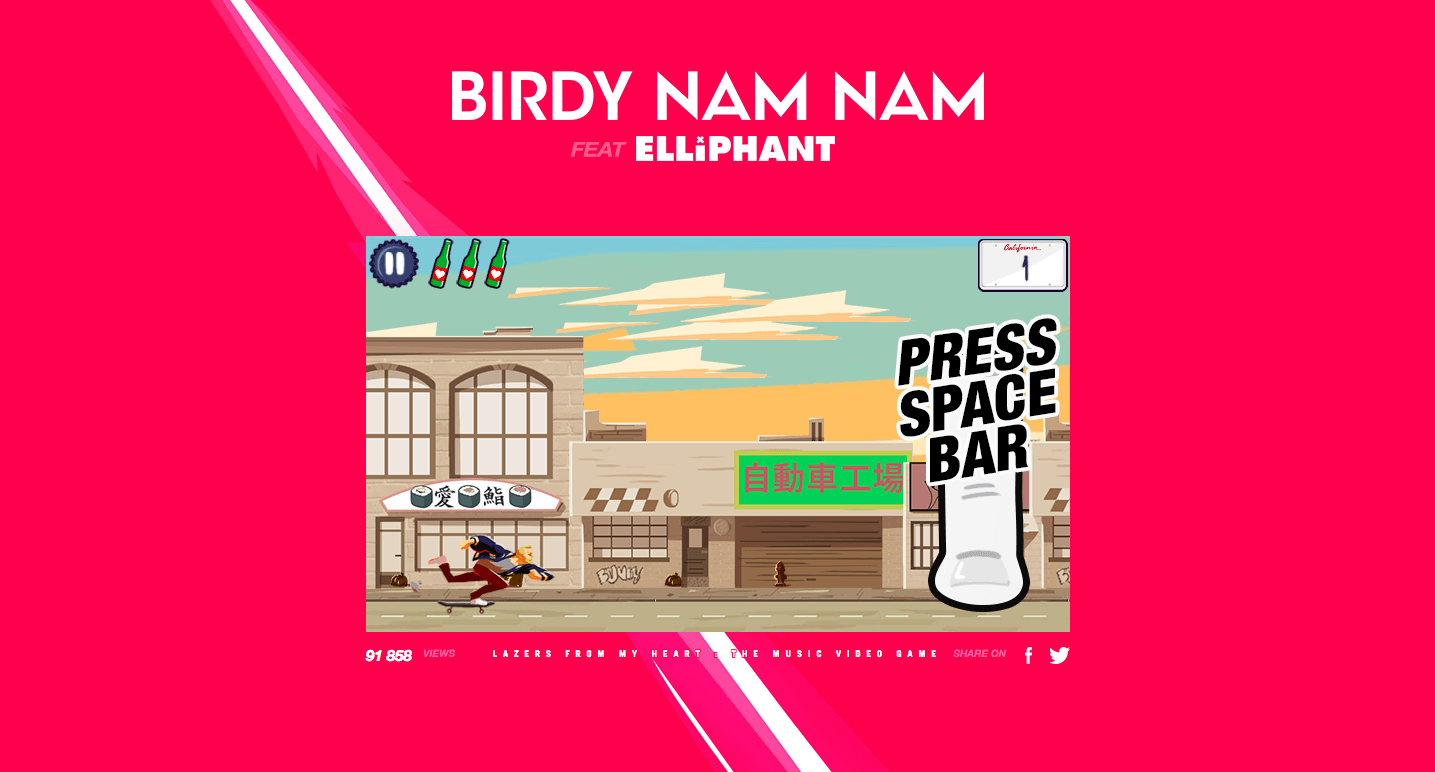 Pourquoi le clip de Birdy Nam Nam est-il mieux sous Android que sur iOS ?