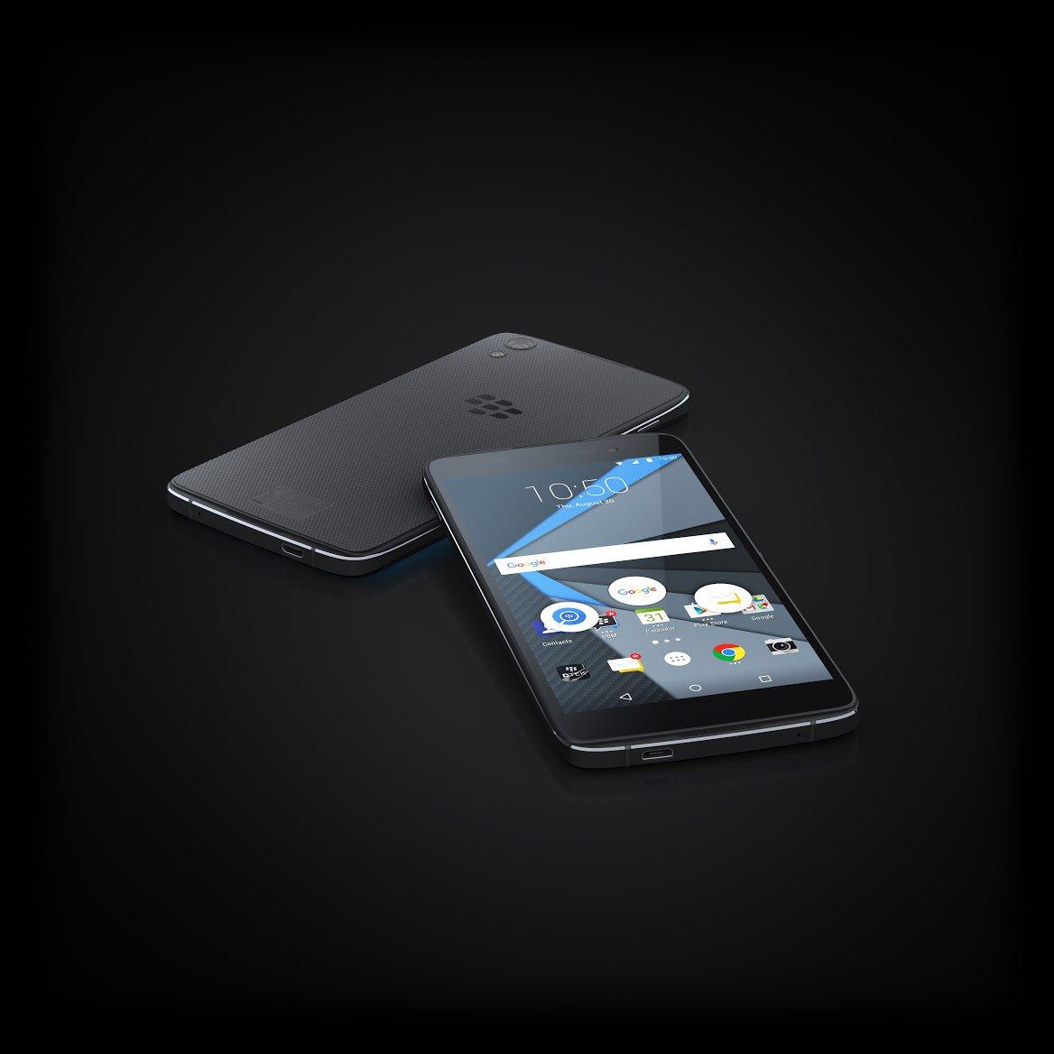BlackBerry DTEK 50, l'autre Alcatel Idol 4 est officiel