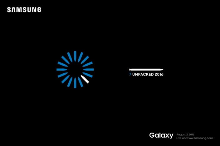 Samsung Galaxy Note 7 : l'évènement Unpacked annoncé, le nom confirmé