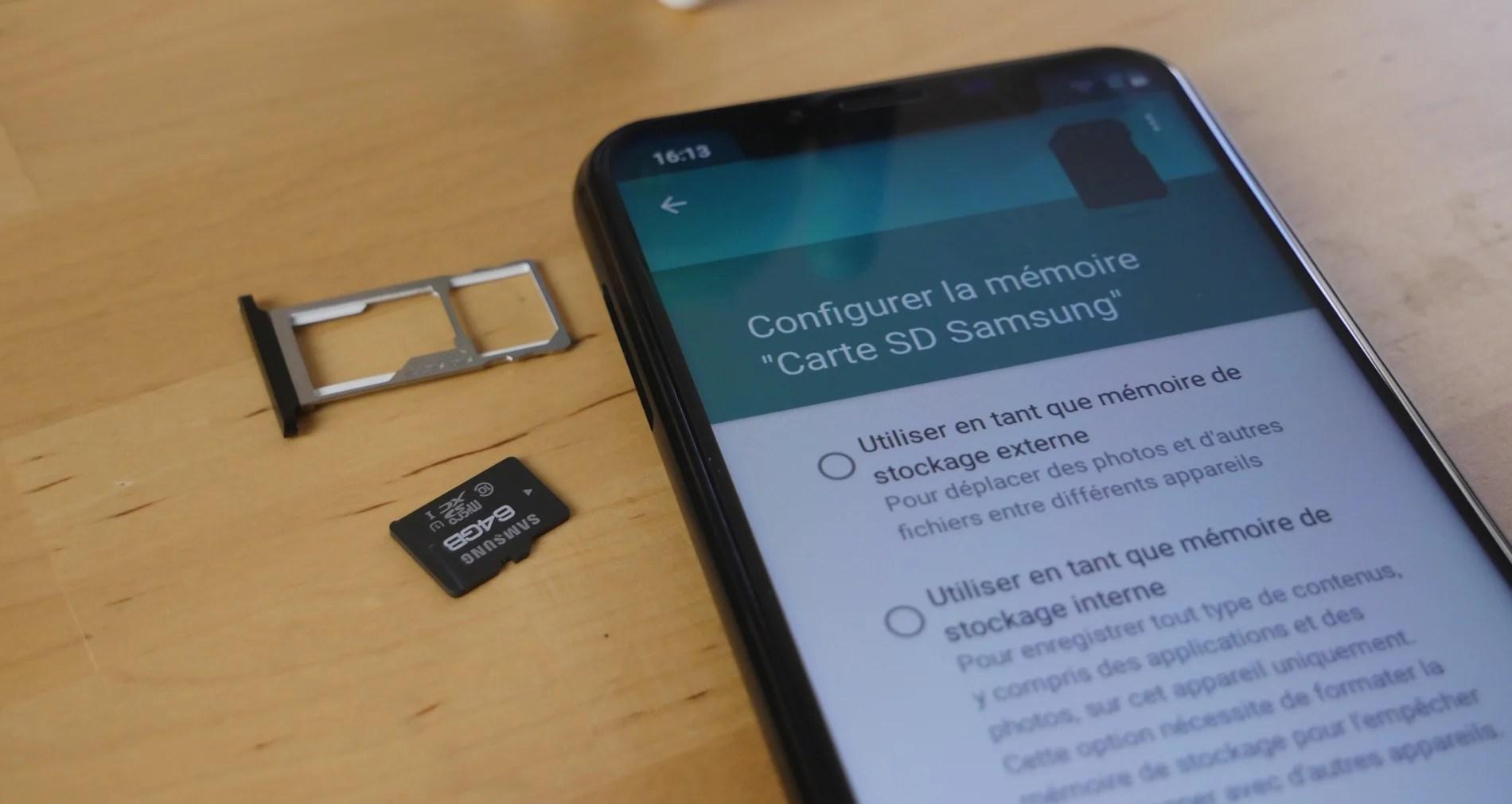 Samsung Galaxy One UI : les cartes SD seraient mieux intégrées sous Android 9.0 Pie