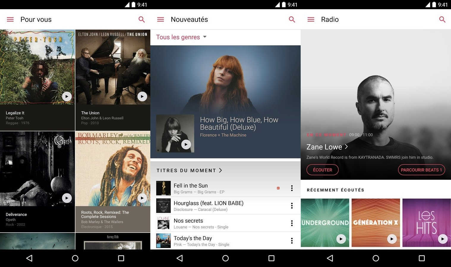 Apple Music pour Android est disponible en version finale