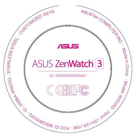 À l'IFA 2016, attendez-vous à une Asus ZenWatch 3 ronde