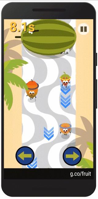 Les JO 2016 ont leur Doodle, et c'est un jeu mobile