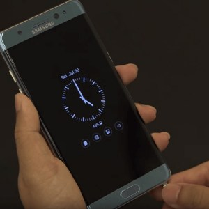 Galaxy Note 7 : l'Always-On Display de Samsung s'ouvre aux applications tierces