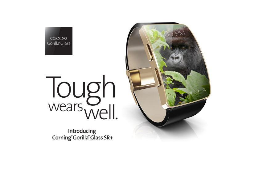 Corning Gorilla Glass SR+ : une protection d'écran pensée pour les montres connectées