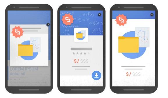 Google veut pénaliser l'usage des publicités trop intrusives pour les mobiles